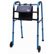 Carex Explorer® Folding Walker with Wheels