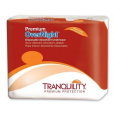 Tranquility Premium Overnight Disposable Underwear - 2XL, Case of 48