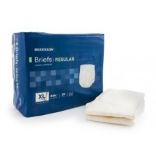 McKesson Adult X-Large Disposable Moderate Absorbency Briefs  - Bag of 20