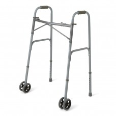 Medline Bariatric 2 Button Folder Walker