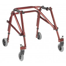 Drive Medical Nimbo 2G Lightweight Posterior Walker, Large, Castle Red