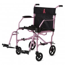 Medline Freedom 2 Ultralight Transport Chair - Pink