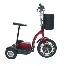 Drive Medical Zoome Three Wheel Recreational Power Scooter - Red